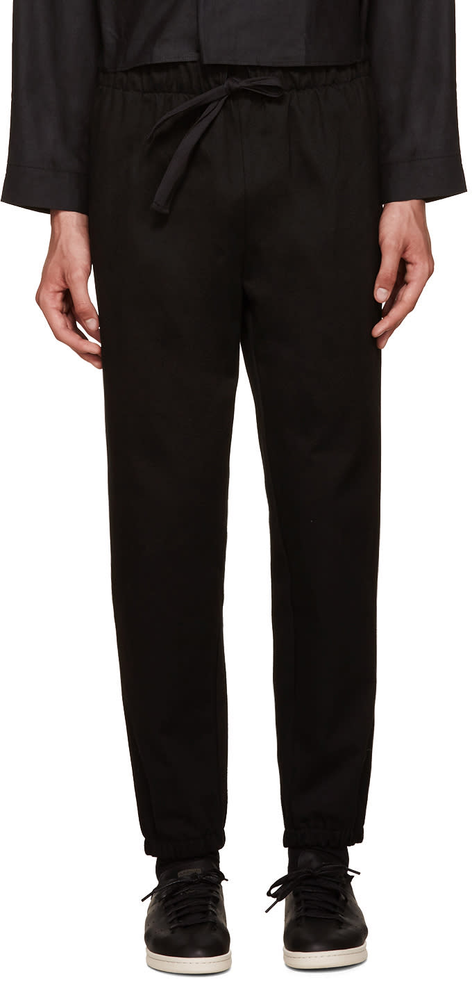Phoebe English Black Lounge Pants