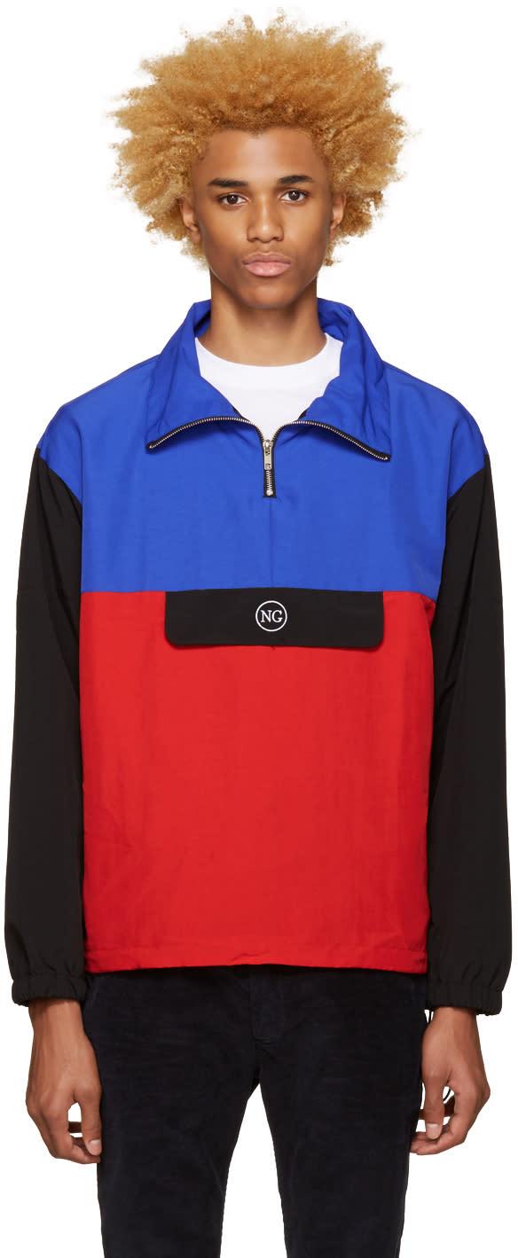 Noon Goons Tricolor Beach Breaker Jacket