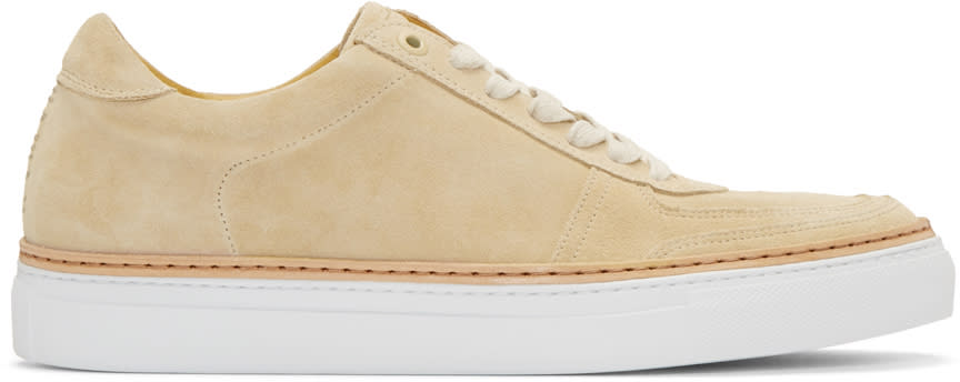 No.288 Beige Suede Grand Sneakers