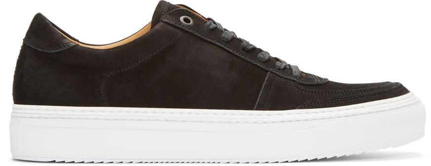 No.288 Black Nubuck Grand Sneakers