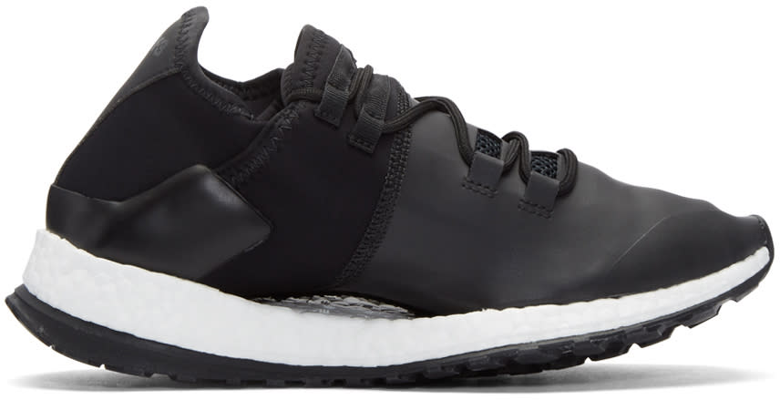 Y-3 Sport Black Run X Sneakers