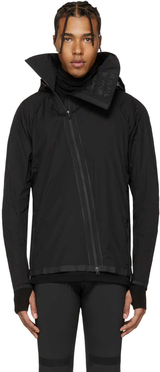 Image of Y-3 Sport Black Airflow Hooded Jacket