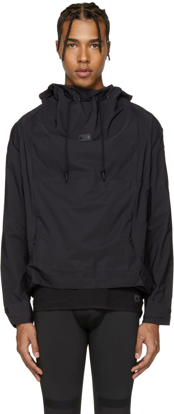 Image of Y-3 Sport Black 3l Waterproof Jacket