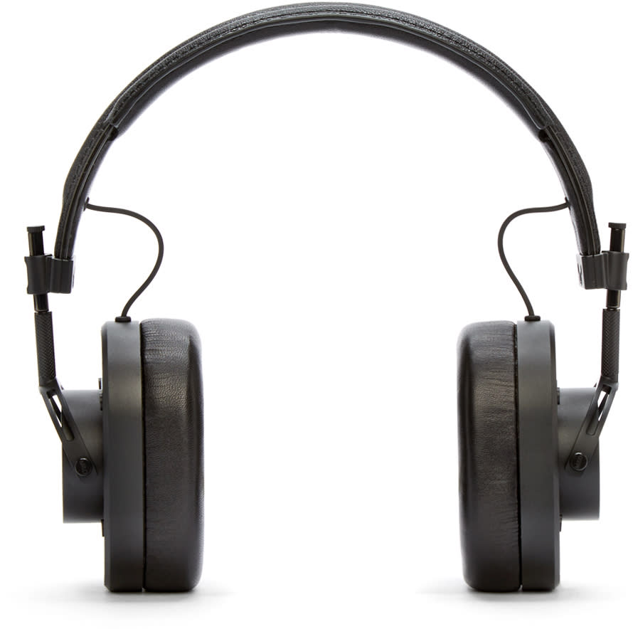 Master and Dynamic Black Mh40 Headphones