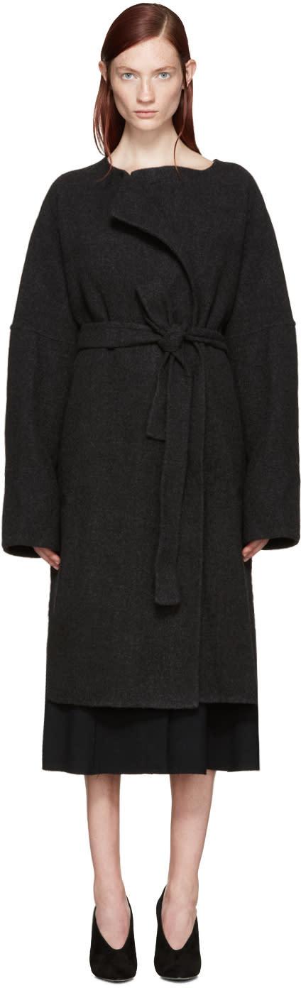 Protagonist Grey Wool Beuys Coat