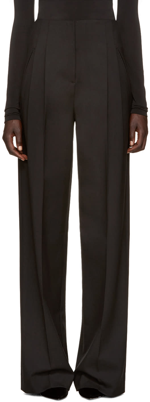 Protagonist Black Wide-leg Trousers