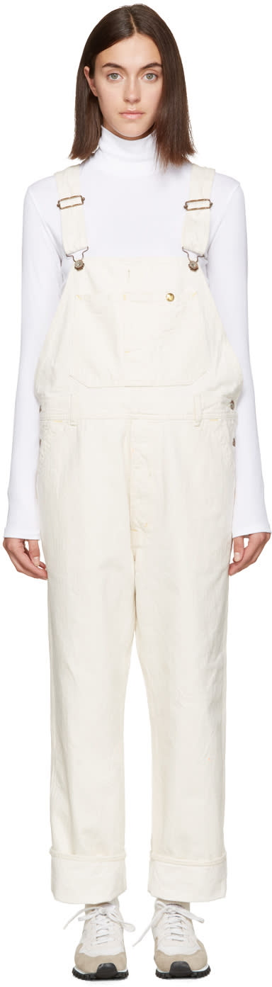Chimala Off-white Painter Overalls