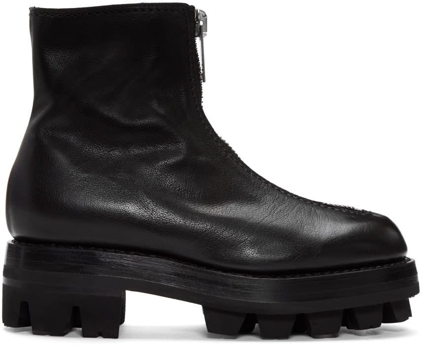 Alyx Black Tank Zip Boots