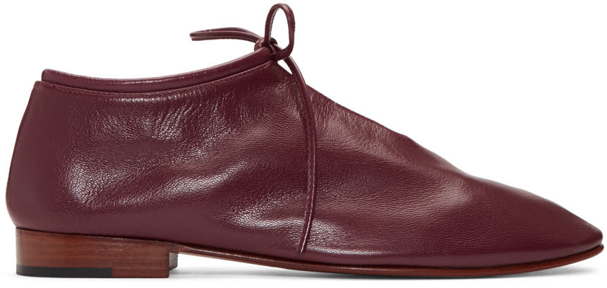 Martiniano Burgundy Bootie Oxfords