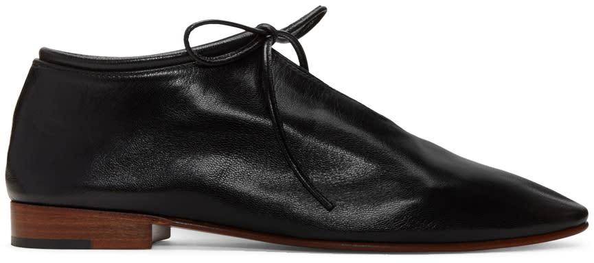 Martiniano Black Bootie Oxfords