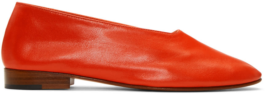 Martiniano Red Glove Ballerina Flats