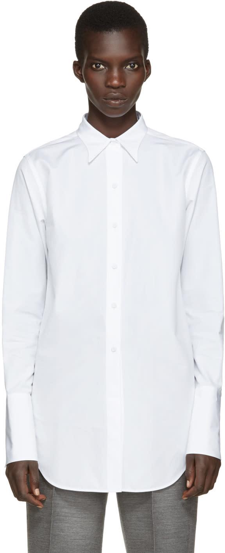 Ports 1961 White Poplin Shirt