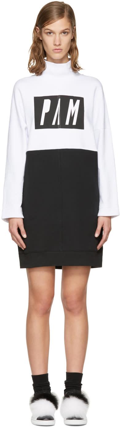 Perks And Mini White and Black call Me Dress