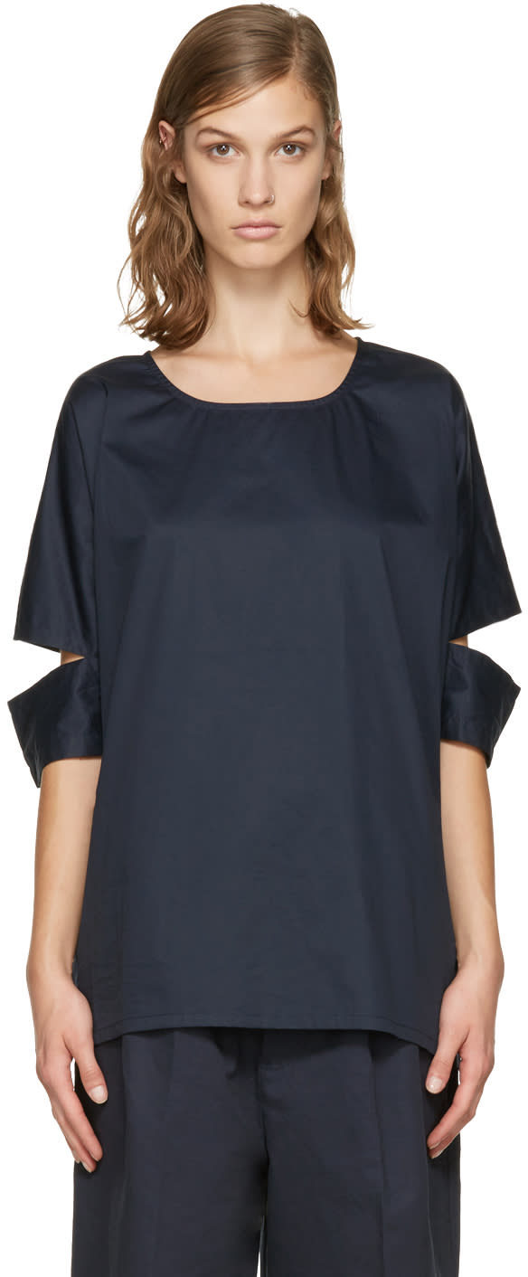 Perks And Mini Navy Busy Release Top