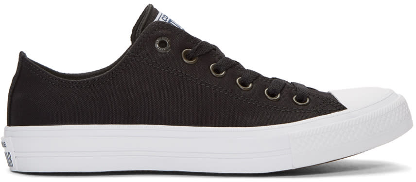 Converse Black Chuck Taylor All Star Ii Ox Sneakers
