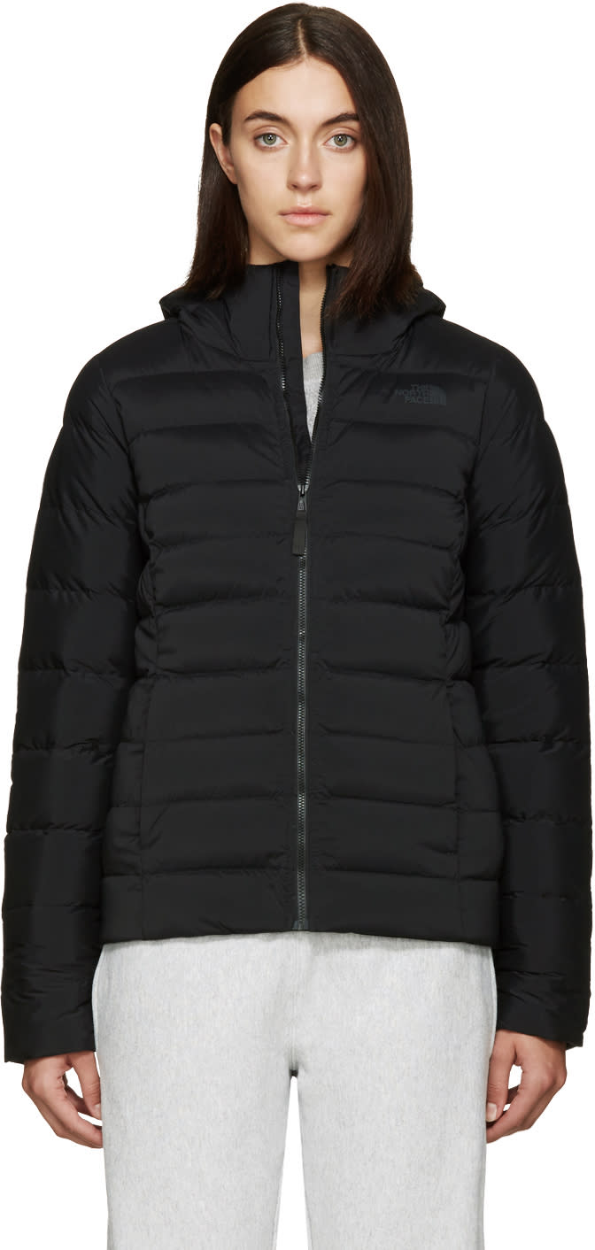 The North Face Black Down Stretch Jacket