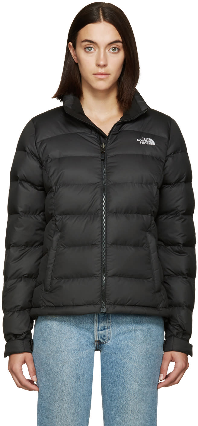 The North Face Black Nuptse 2 Jacket