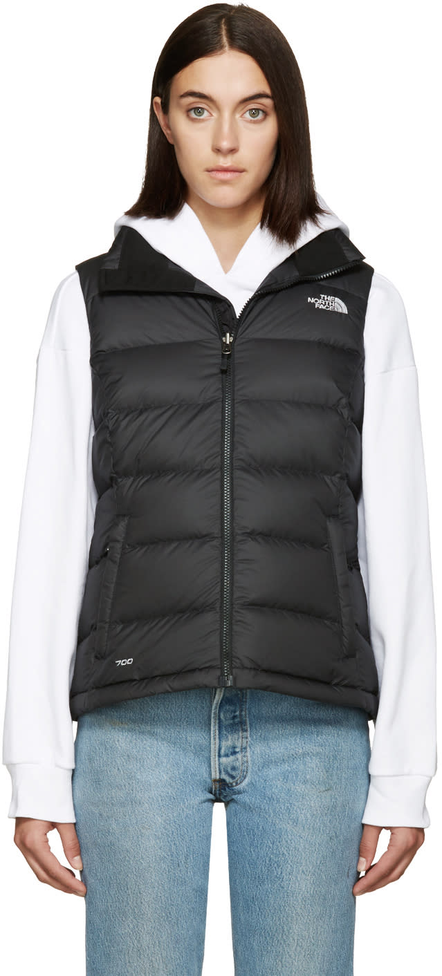 The North Face Black Nuptse 2 Vest