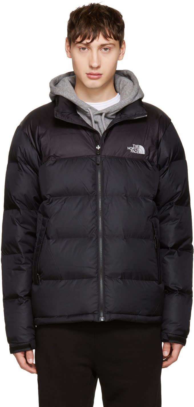 The North Face Black Nuptse Jacket