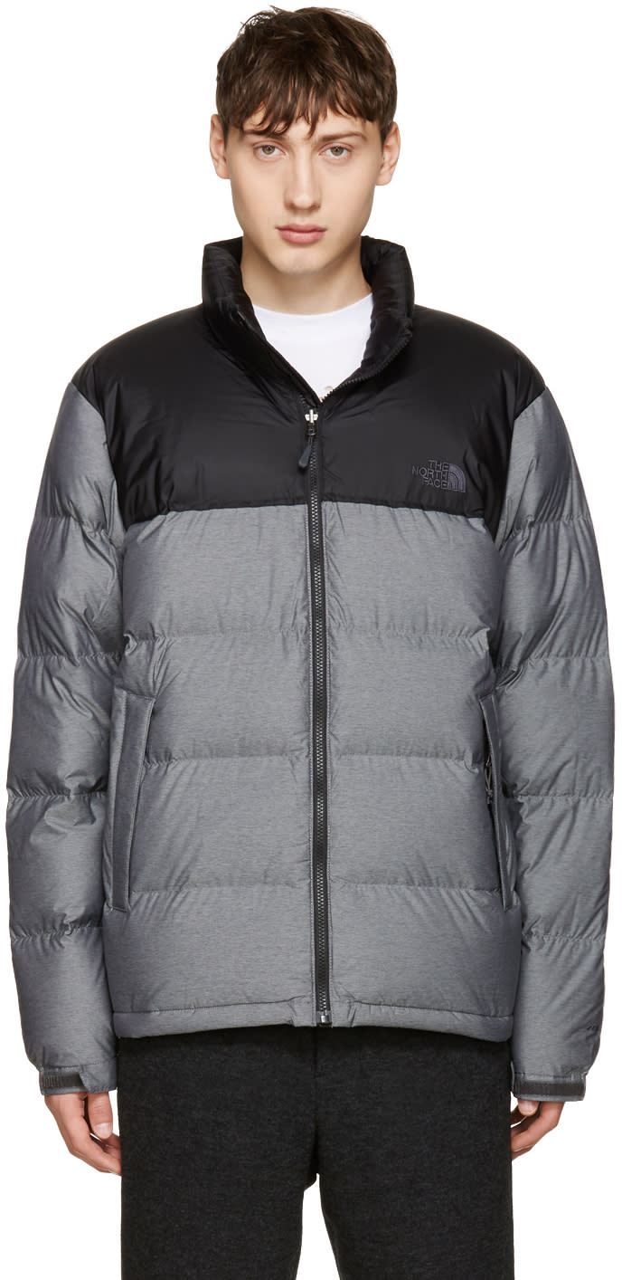 The North Face Grey Nuptse Jacket