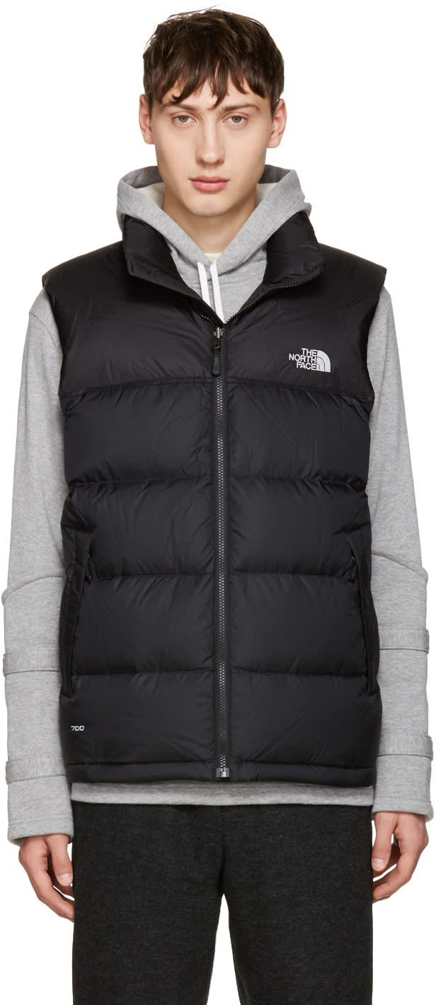 The North Face Black Nuptse Vest