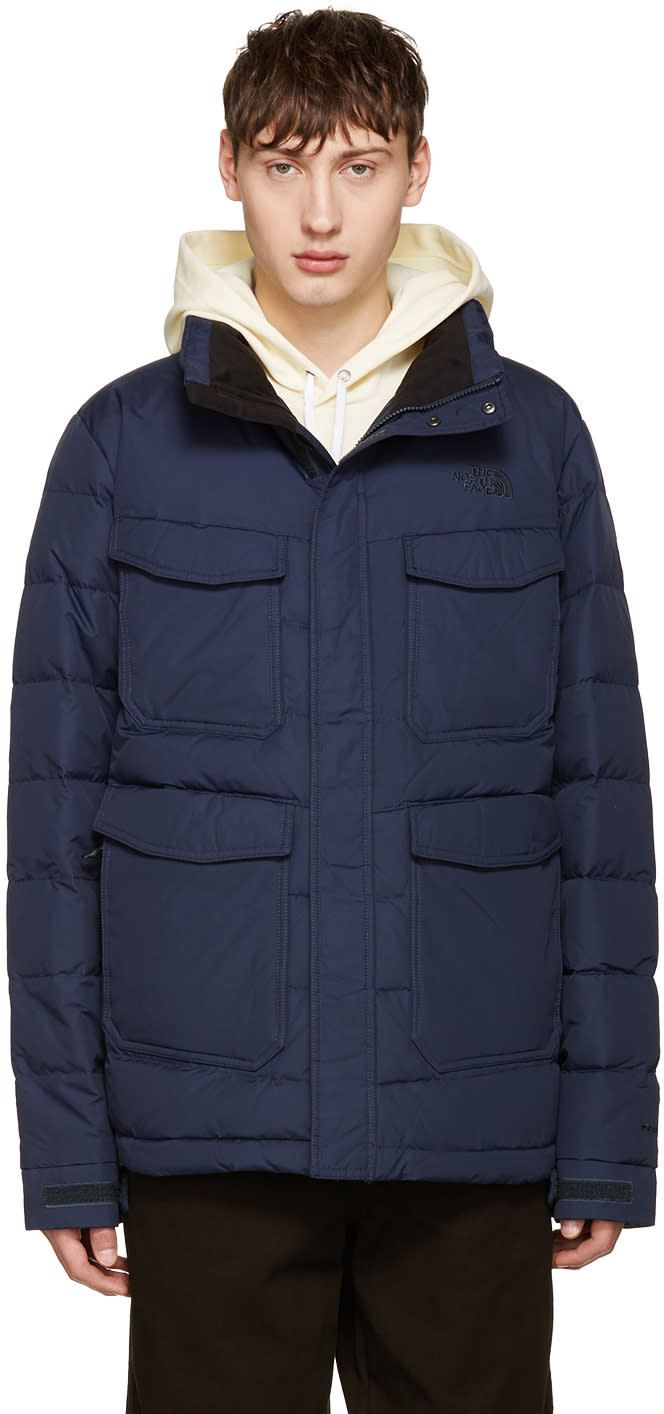 The North Face Navy Far Northern Jacket