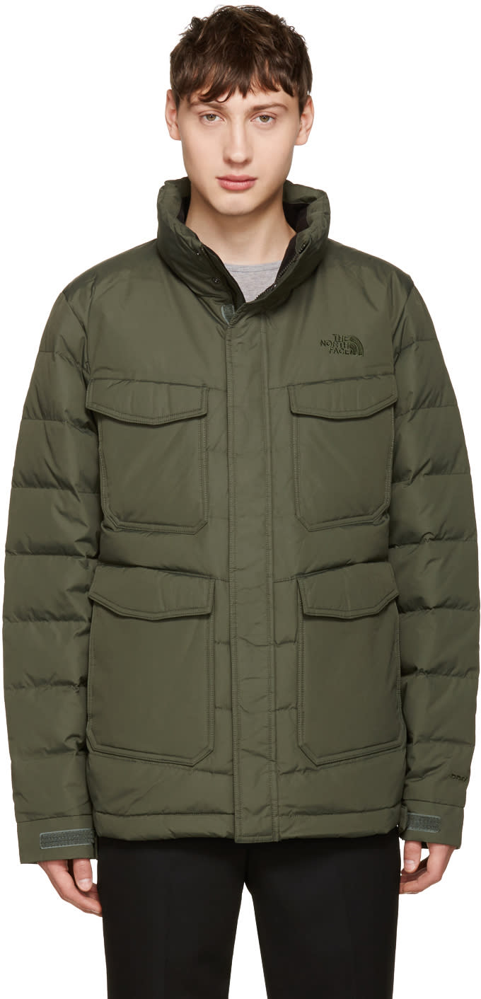 The North Face Green Far Northern Jaket