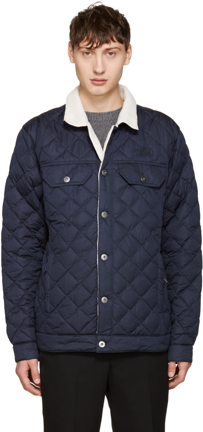 The North Face Navy Sherpa Thermoball Jacket