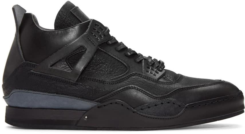 Hender Scheme Black Manual Industrial Products 10 Sneakers