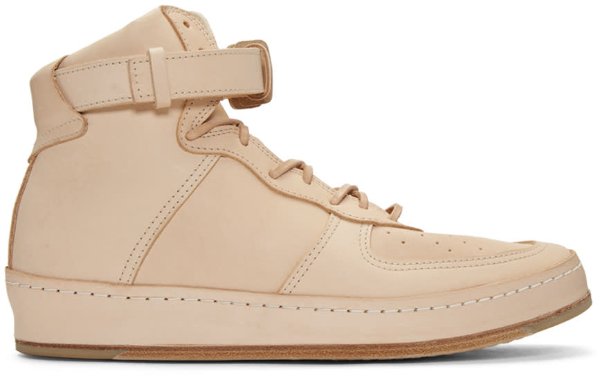Image of Hender Scheme Beige Manual Industrial Products 01 Sneakers