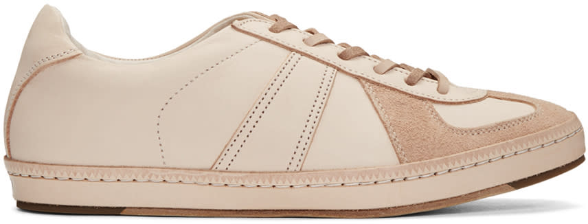 Image of Hender Scheme Beige Manual Industrial Products 05 Sneakers