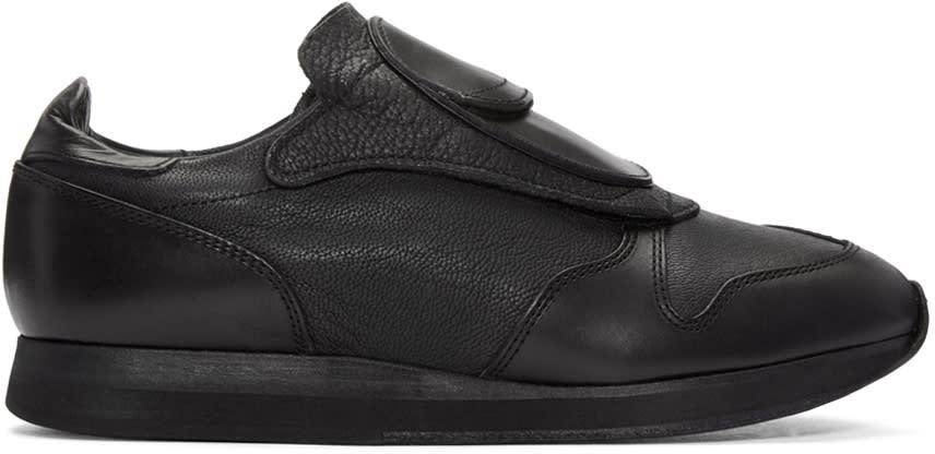 Hender Scheme Black Manual Industrial Products 09 Sneakers