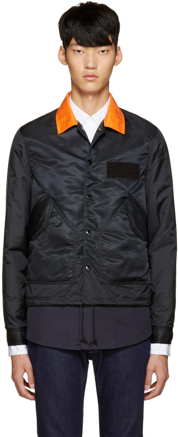 Ganryu Black Nylon Jacket