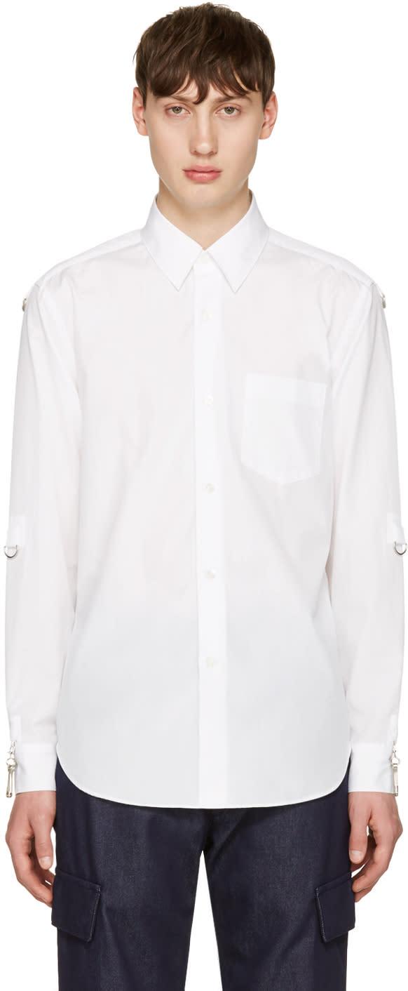 Ganryu White D-rings Shirt
