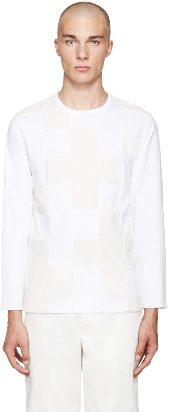 Ganryu White Panelled T-shirt