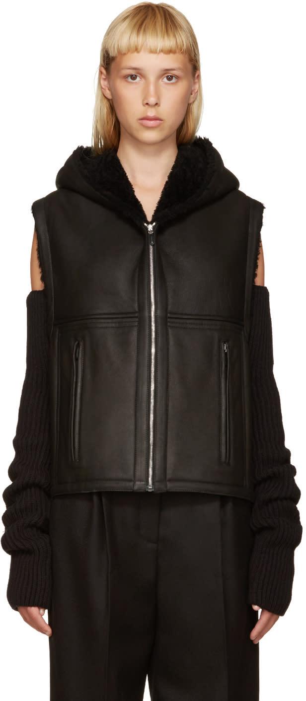 Nehera Black Shearling Joris Vest