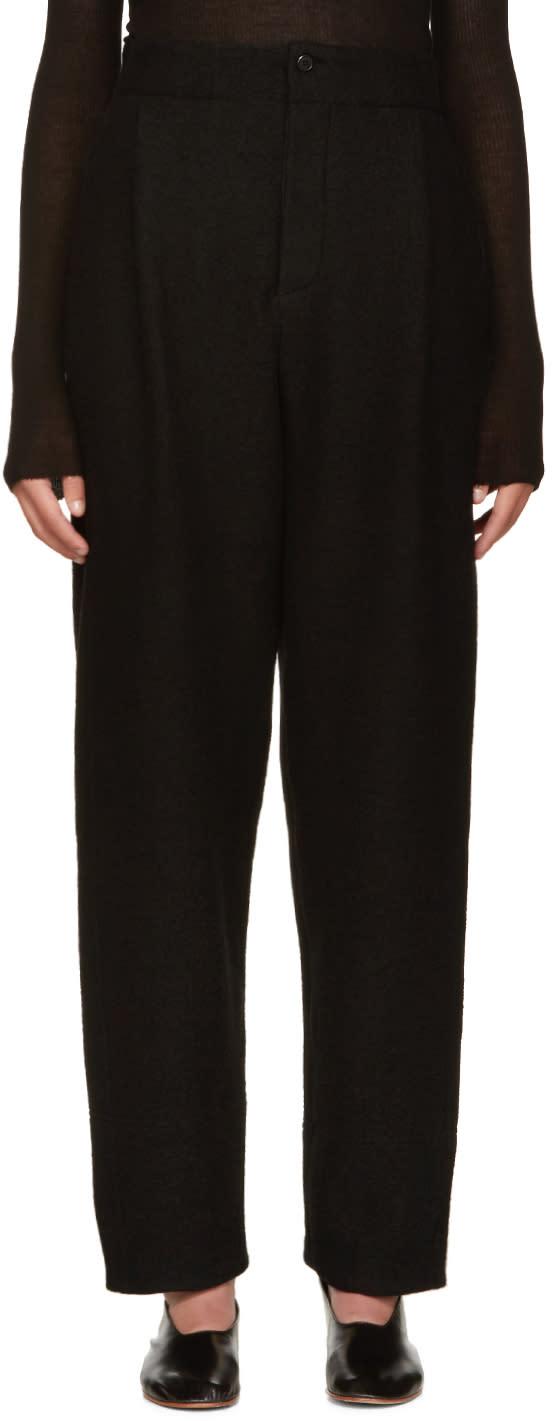 Nehera Black Pince Trousers