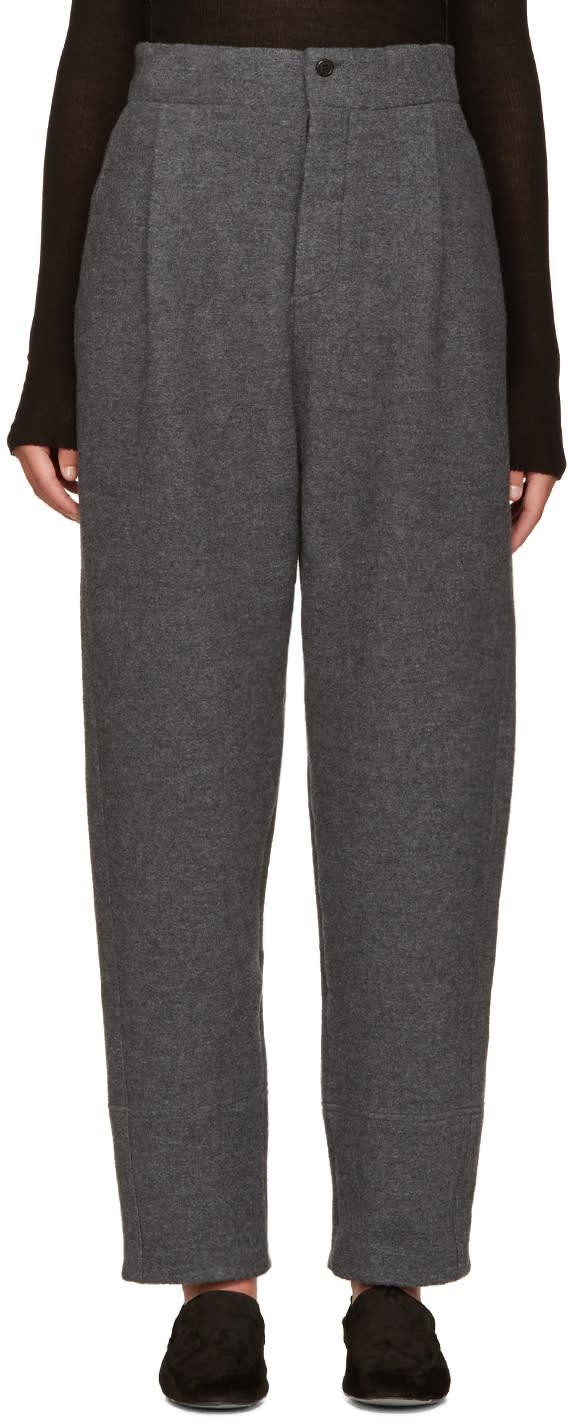 Nehera Grey Pince Trousers