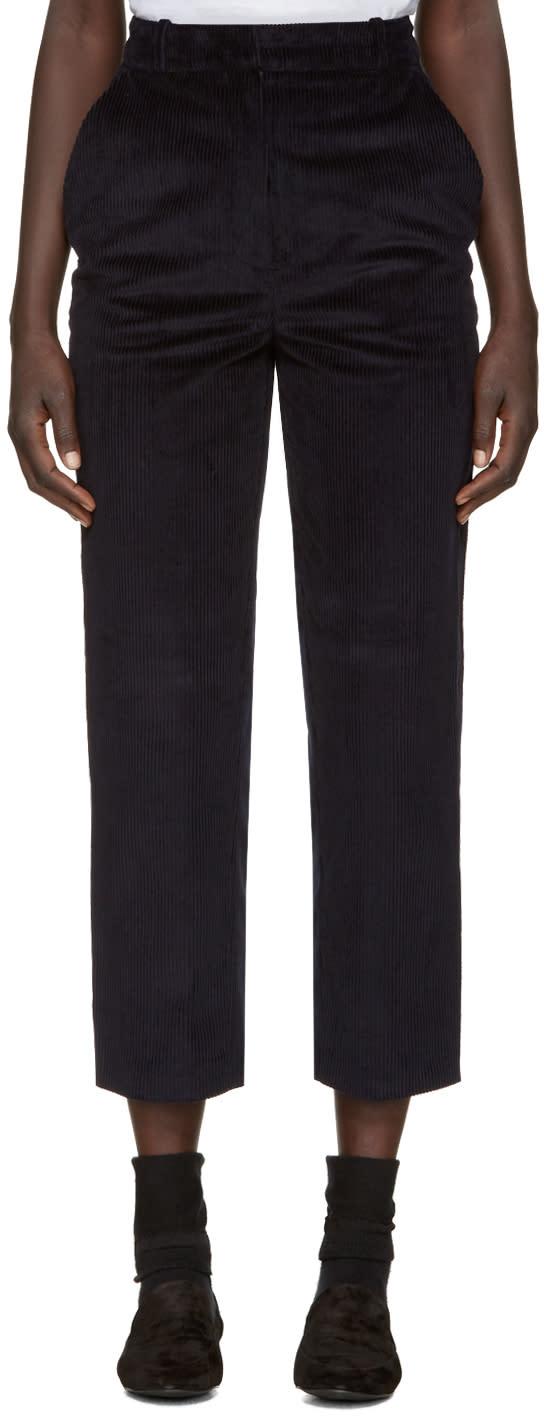 Nehera Navy Corduroy Pale Trousers