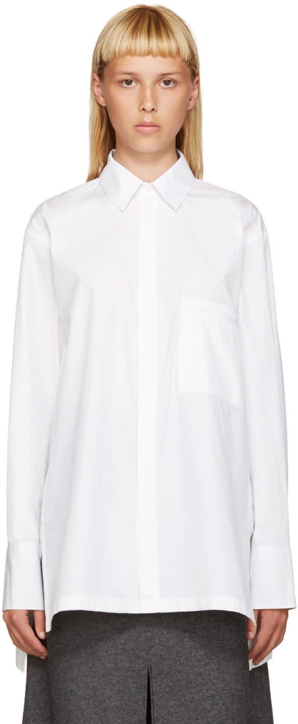 Nehera White Bara Shirt