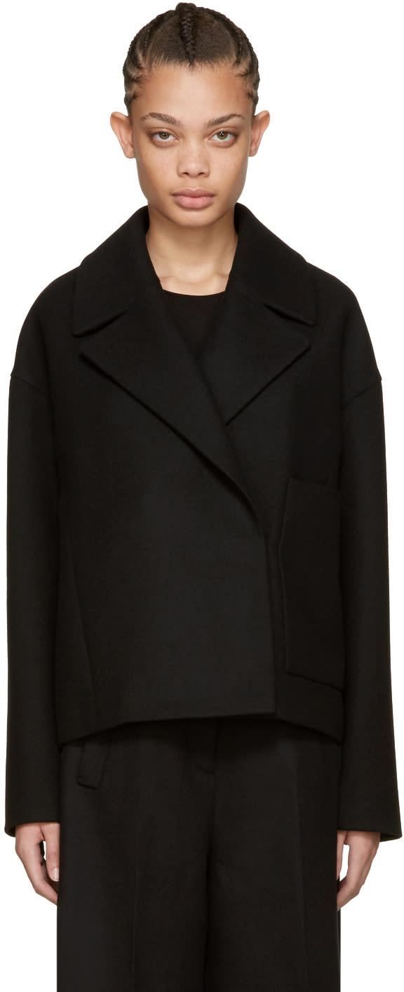 Cyclas Black Cropped Pocket Jacket
