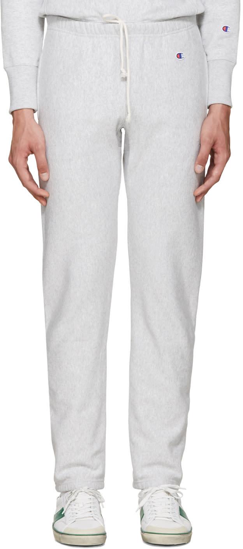 Champion Reverse Weave Grey Reverse Weave Terry Lounge Pants