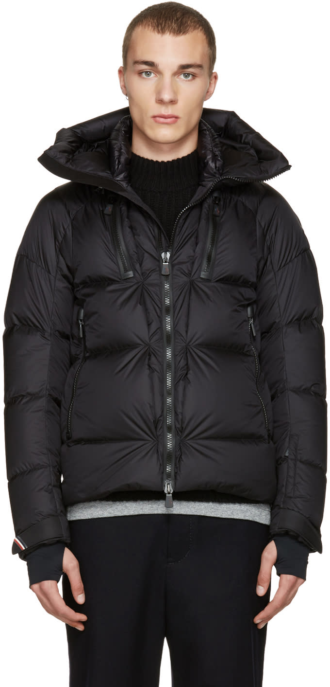 Moncler Grenoble Black Valloire Jacket