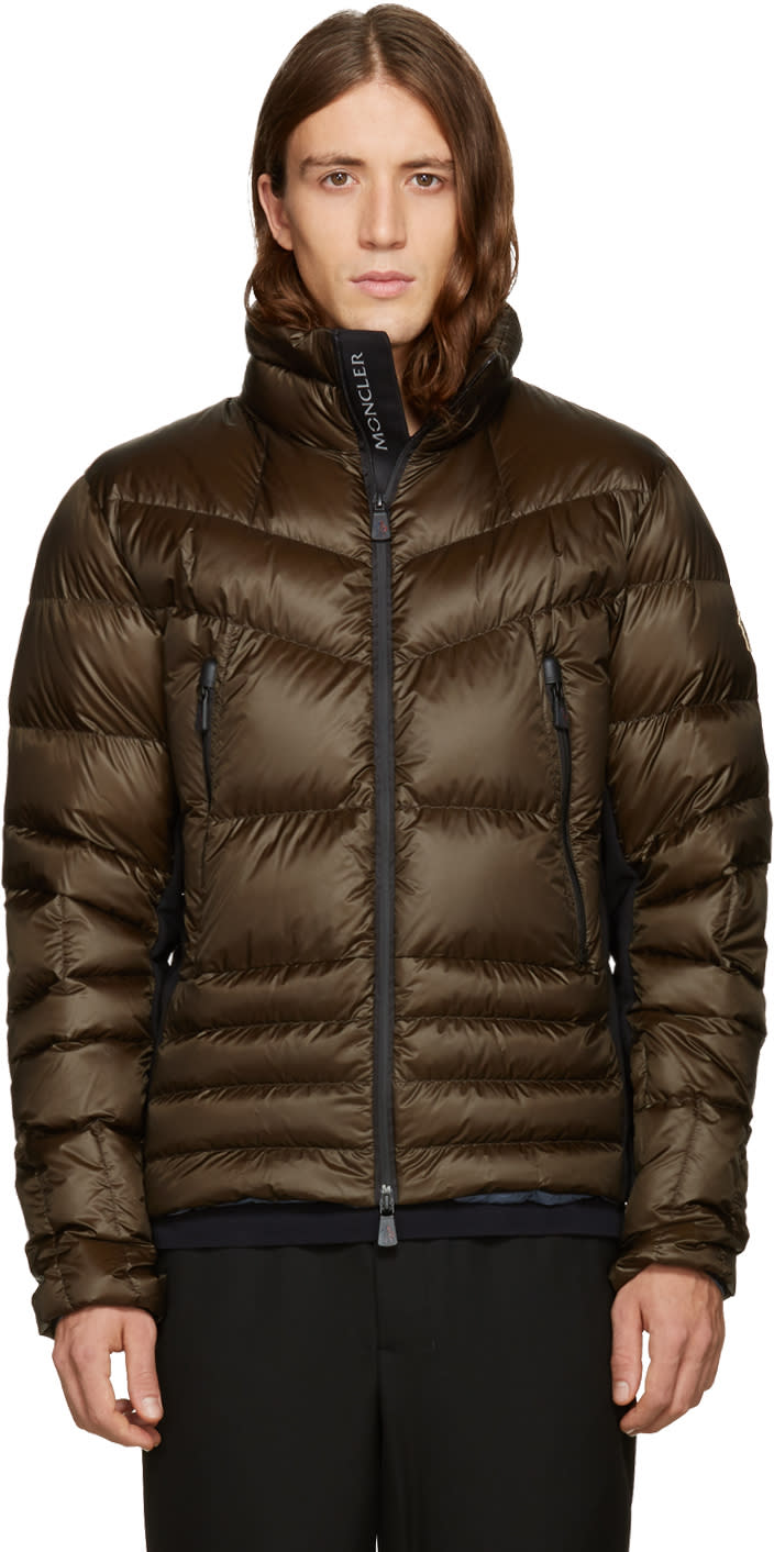 Moncler Grenoble Green Down Canmore Jacket