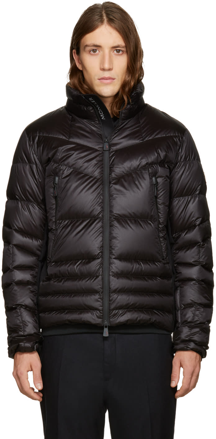 Moncler Grenoble Black Down Canmore Jacket