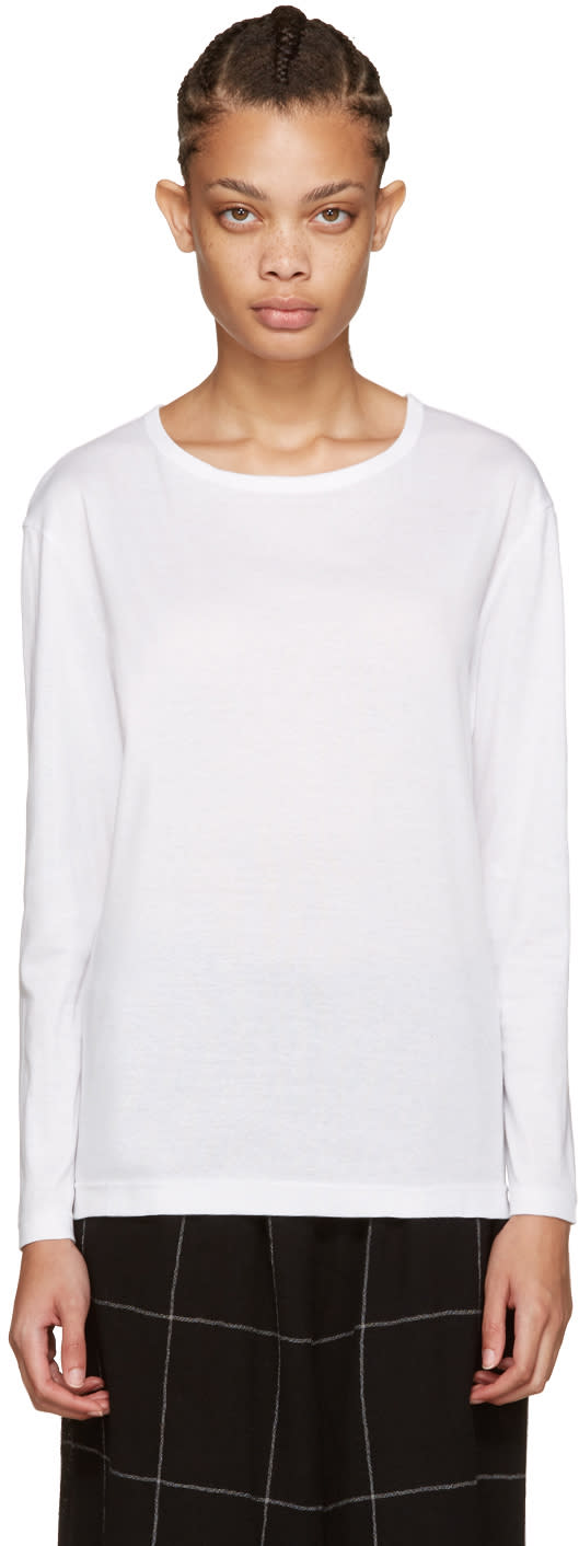 Nocturne 22 White Long Sleeve T-shirt