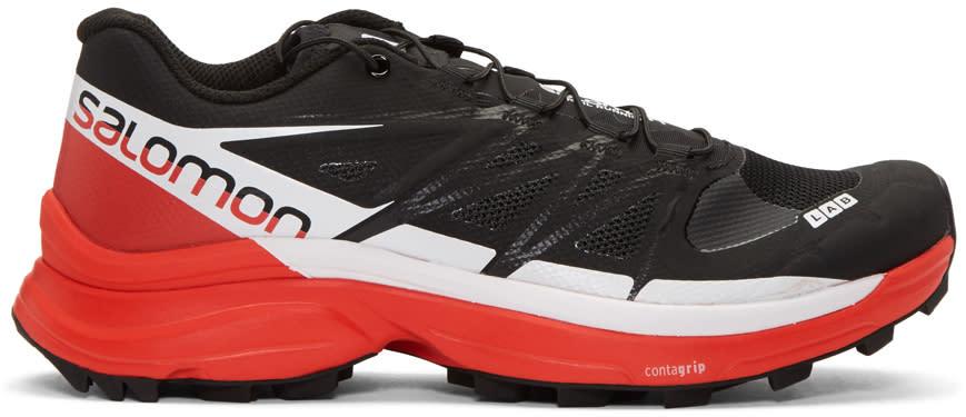 Image of Salomon Black S-lab Wings 8 Sg Sneakers