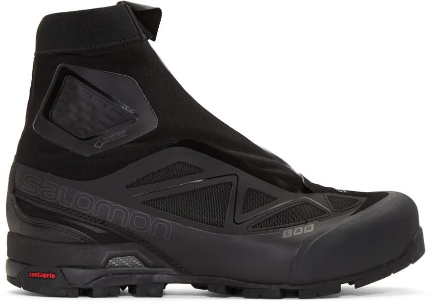 Salomon ブラック S-lab X-alp Ltd エディション ハイトップ スニーカー