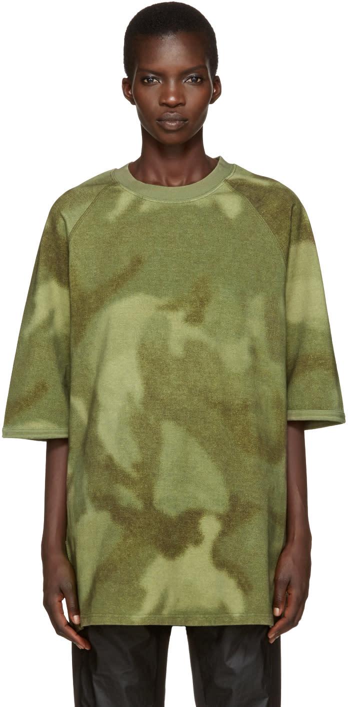 Yeezy Green Camo Raglan Knit T-shirt