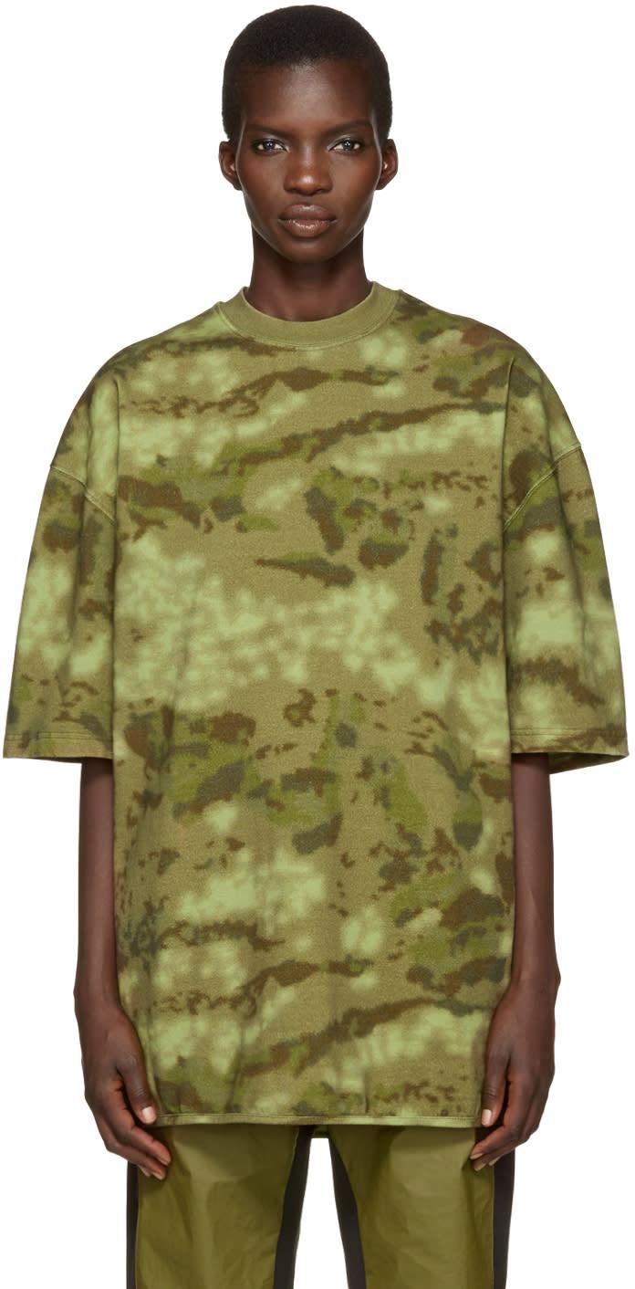 Yeezy Green Camo Heavy Knit T-shirt